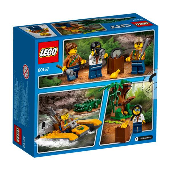 LEGO 60157 - Starter set della Giungla ALTRI Maschio 12+ Anni, 3-5 Anni, 5-8 Anni, 8-12 Anni LEGO CITY