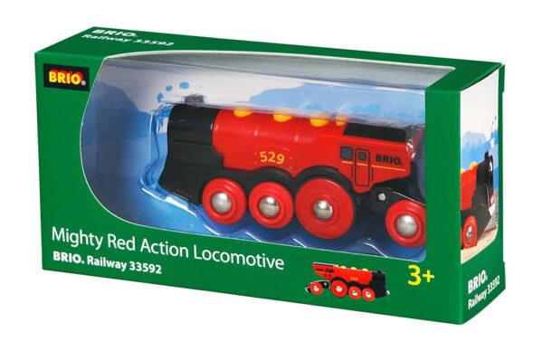 BRIO grande locomotiva rossa a batterie BRIO Unisex 12-36 Mesi, 3-4 Anni, 3-5 Anni, 5-7 Anni, 5-8 Anni ALTRI