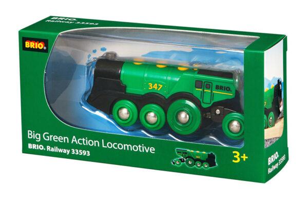 BRIO grande locomotiva verde a batterie BRIO Unisex 12-36 Mesi, 3-4 Anni, 3-5 Anni, 5-7 Anni, 5-8 Anni ALTRI