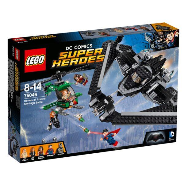 76046 - Eroi della Giustizia: battaglia nei cieli - Dc Comics - Toys Center DC COMICS Maschio 12+ Anni, 5-8 Anni, 8-12 Anni BATMAN