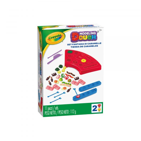 Pasta da modellare - Set Fantasia di Caramelle Crayola CRAYOLA Unisex 12-36 Mesi, 3-5 Anni, 5-8 Anni, 8-12 Anni ALTRI