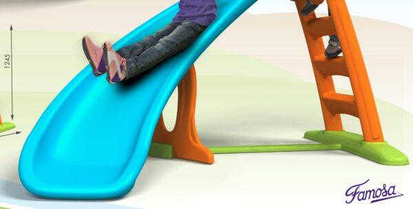 ALTRI FEBER Unisex 12-36 Mesi, 3-4 Anni, 3-5 Anni, 5-7 Anni, 5-8 Anni Scivolo Feber Con Curva - Feber - Toys Center