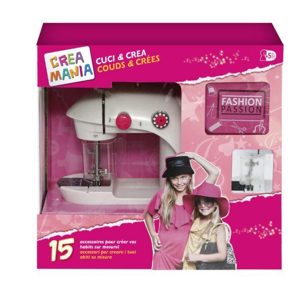 MACCHINA DA CUCIRE - Creamania Girl - Toys Center ALTRI Femmina 3-5 Anni, 5-7 Anni, 5-8 Anni, 8-12 Anni CREAMANIA GIRL