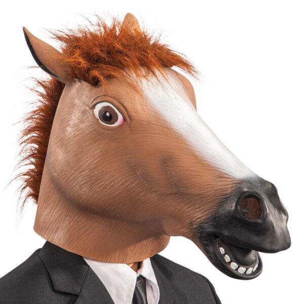 Maschera cavallo in fingomma ALTRO Unisex 12+ Anni ALTRI