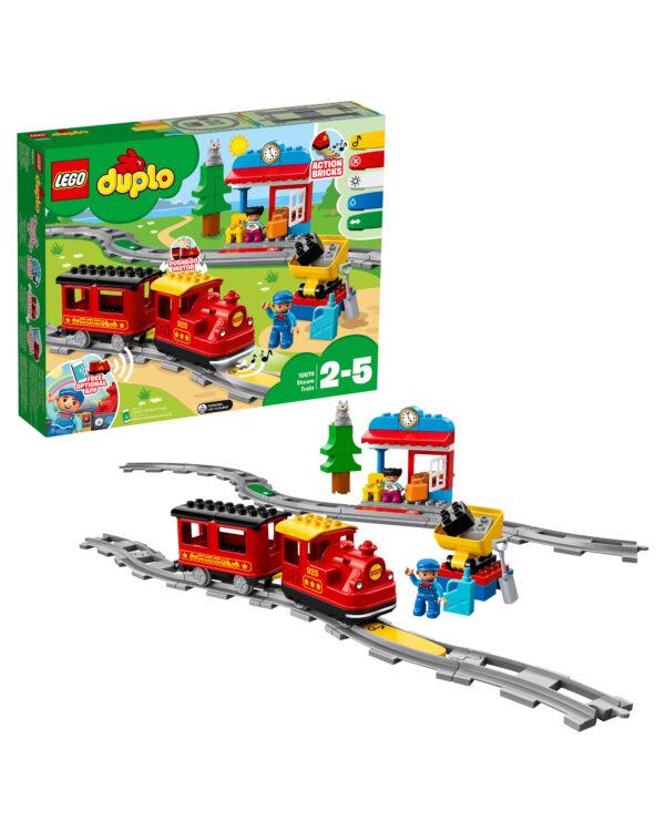 LEGO 10874 - Treno a vapore LEGO DUPLO Unisex 12-36 Mesi, 12+ Anni, 3-5 Anni, 5-8 Anni, 8-12 Anni ALTRI