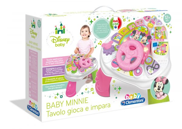 BABYCLEM Tavolo Attiv BabyMin TOPOLINO&CO. Femmina 0-12 Mesi, 0-2 Anni, 3-4 Anni Disney