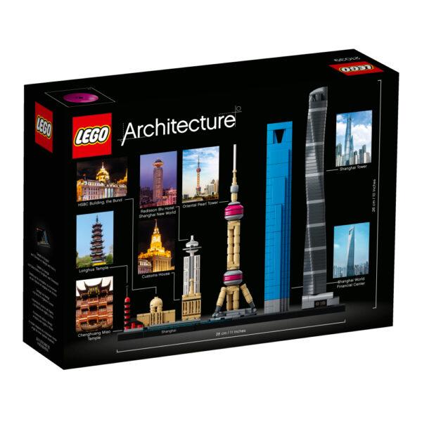 21039 - Shanghai - Lego Architecture - Toys Center ALTRI Maschio 12+ Anni, 8-12 Anni LEGO ARCHITECTURE