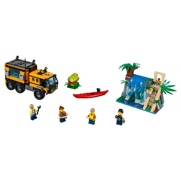 LEGO CITY JURASSIC WORLD LEGO 60160 - Laboratorio mobile nella giungla - Lego City - Toys Center Maschio 12+ Anni, 5-8 Anni, 8-12 Anni