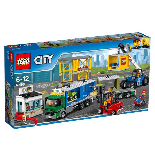 60169 - Terminal merci - Lego City - Toys Center LEGO CITY Maschio 12+ Anni, 5-8 Anni, 8-12 Anni ALTRI