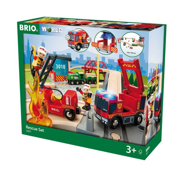BRIO set deluxe soccorso antincendio BRIO Unisex 12-36 Mesi, 3-4 Anni, 3-5 Anni, 5-7 Anni, 5-8 Anni ALTRI