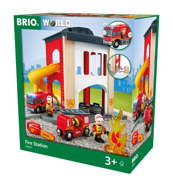 BRIO caserma dei pompieri BRIO Unisex 12-36 Mesi, 3-4 Anni, 3-5 Anni, 5-7 Anni, 5-8 Anni ALTRI