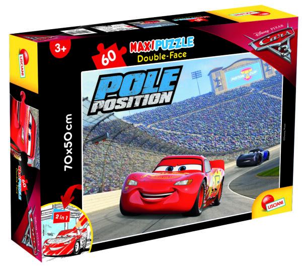 PUZZLE DF SUPERMAXI 60 CARS 3 TIT 1 DISNEY - PIXAR Unisex 12-36 Mesi, 3-5 Anni, 5-8 Anni, 8-12 Anni CARS