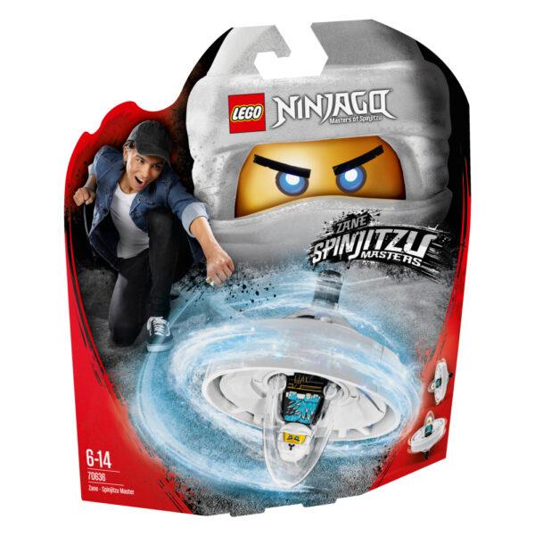 70636 - Zane - Maestro di Spinjitzu - Lego Ninjago - Toys Center LEGO NINJAGO Maschio 12+ Anni, 5-8 Anni, 8-12 Anni ALTRI