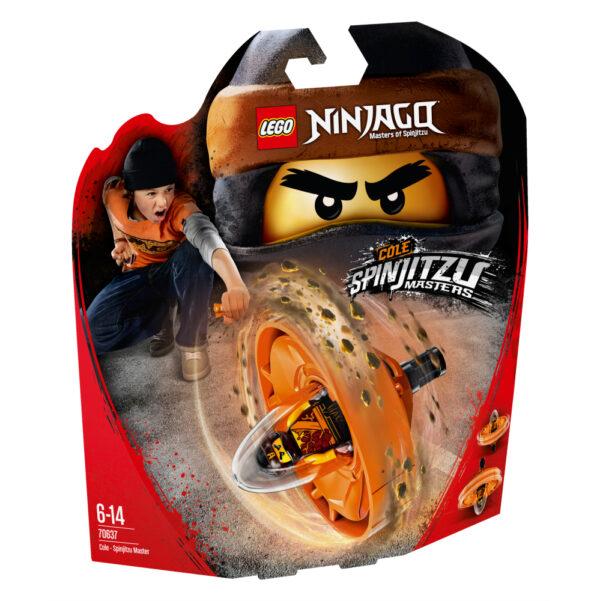 70637 - Cole - Maestro di Spinjitzu - Lego Ninjago - Toys Center LEGO NINJAGO Maschio 12+ Anni, 5-8 Anni, 8-12 Anni ALTRI