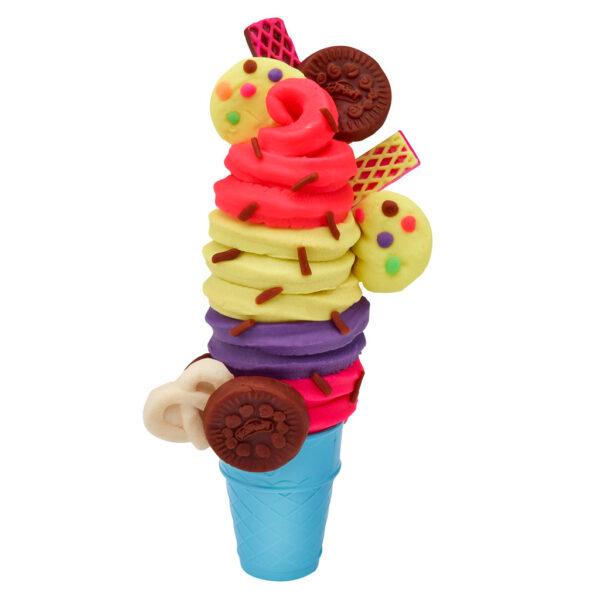 ALTRI PLAY-DOH Unisex 12-36 Mesi, 12+ Anni, 3-5 Anni, 5-8 Anni, 8-12 Anni Play-Doh – La Fabbrica dei gelati