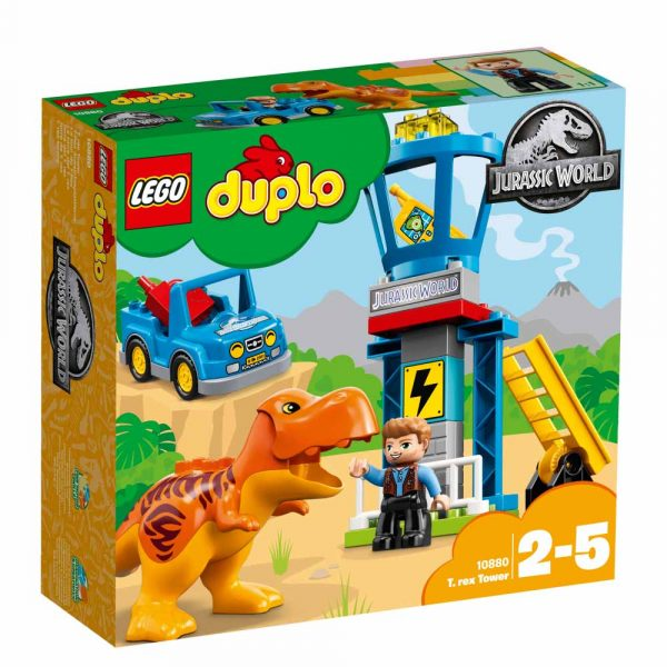 10880 - La torre del T. rex - Lego Duplo - Toys Center - LEGO DUPLO - Costruzioni