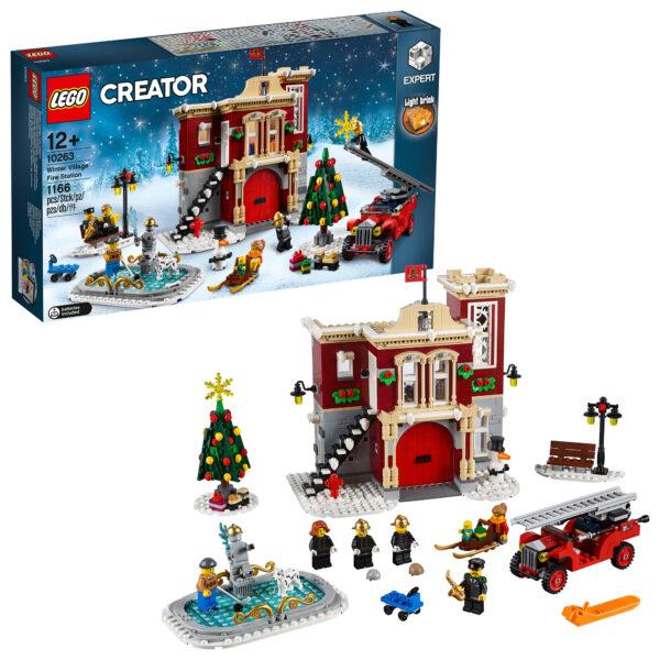 10263 - Caserma dei pompieri del villaggio invernale - Lego Creator Expert - Toys Center - LEGO CREATOR EXPERT - Costruzioni