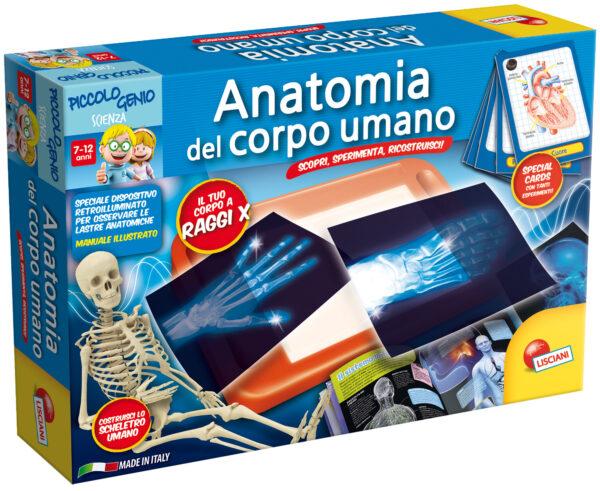 Piccolo Genio Anatomia del corpo umano - Piccolo Genio - Toys Center PICCOLO GENIO Unisex 12+ Anni, 5-7 Anni, 5-8 Anni, 8-12 Anni ALTRI