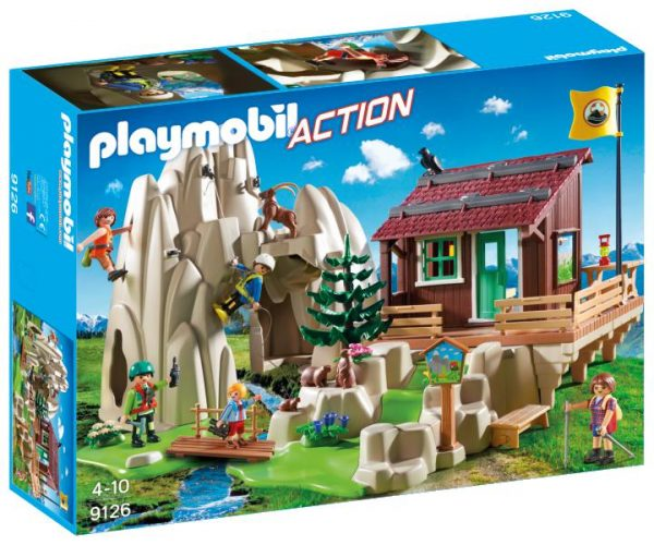 MOUNTAIN RIFUGIO SCALATORI - PLAYMOBIL - ACTION - Fino al -30%