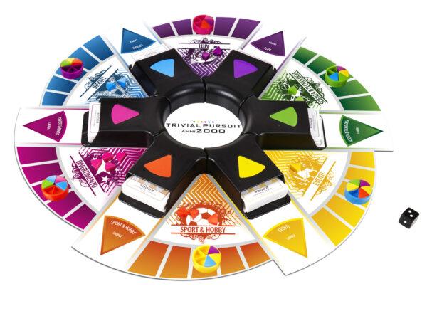 Trivial Pursuit 2000 - Hasbro Gaming - Toys Center ALTRI Unisex 12+ Anni, 5-8 Anni, 8-12 Anni HASBRO GAMING
