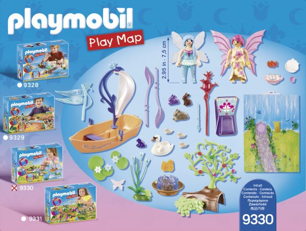 PLAY MAP - IL LAGO DELLE FATE ALTRI Femmina 12+ Anni, 3-5 Anni, 5-8 Anni, 8-12 Anni PLAYMOBIL - PLAY MAP