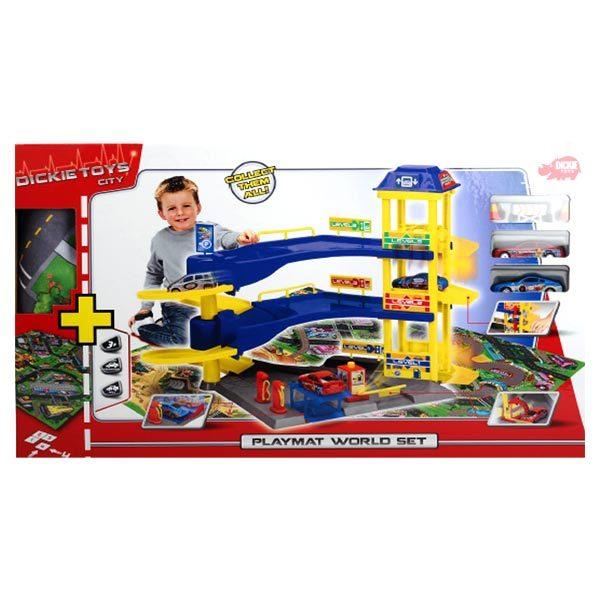 Garage con tappeto e 2 auto - Superstar - Toys Center SUPERSTAR Maschio 12-36 Mesi, 3-5 Anni ALTRI