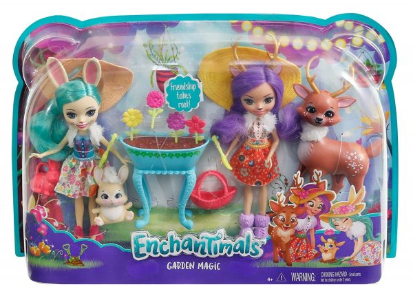 Enchantimals - Playset Giardino Incantato - Enchantimals - Toys Center 12+ Anni, 3-5 Anni, 5-8 Anni, 8-12 Anni Femmina ENCHANTIMALS ALTRI