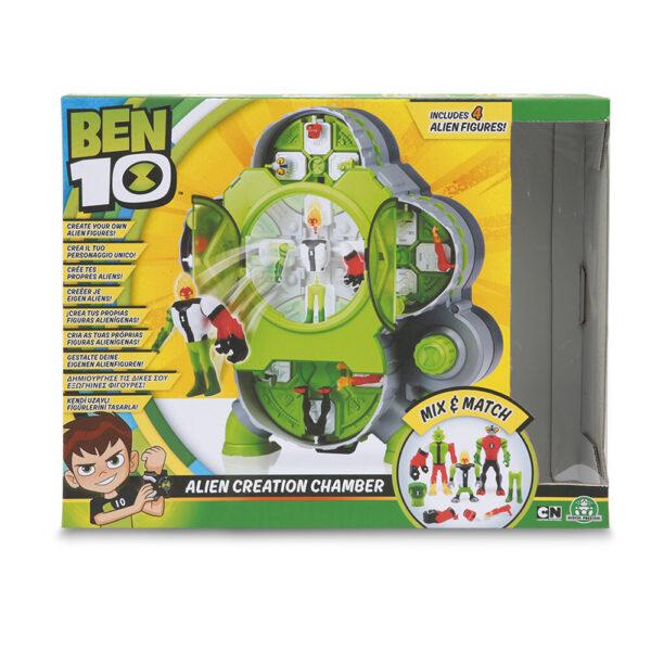 Giochi Preziosi - Ben10 Alien Creation Chamber + 4 personaggi - BEN 10 - Marche ALTRO Maschio 3-5 Anni, 5-8 Anni, 8-12 Anni BEN 10