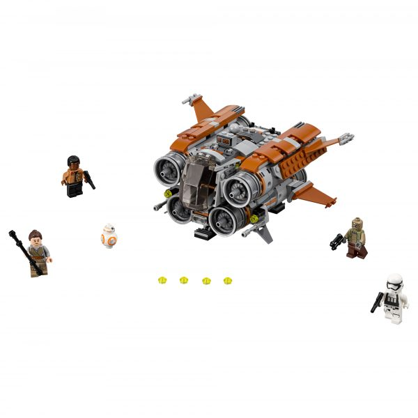 Disney Star Wars 75178 - Quadjumper di Jakku - Disney - Toys Center Maschio 12+ Anni, 5-8 Anni, 8-12 Anni