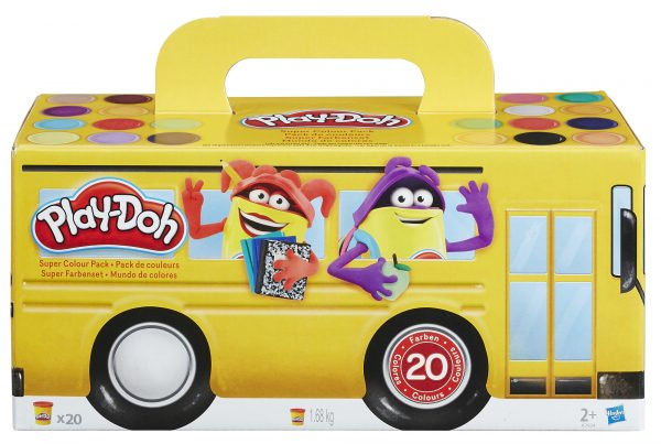 Super Color Pack - Play-doh - Toys Center PLAY-DOH Unisex 12-36 Mesi, 3-4 Anni, 3-5 Anni, 5-7 Anni, 5-8 Anni ALTRI