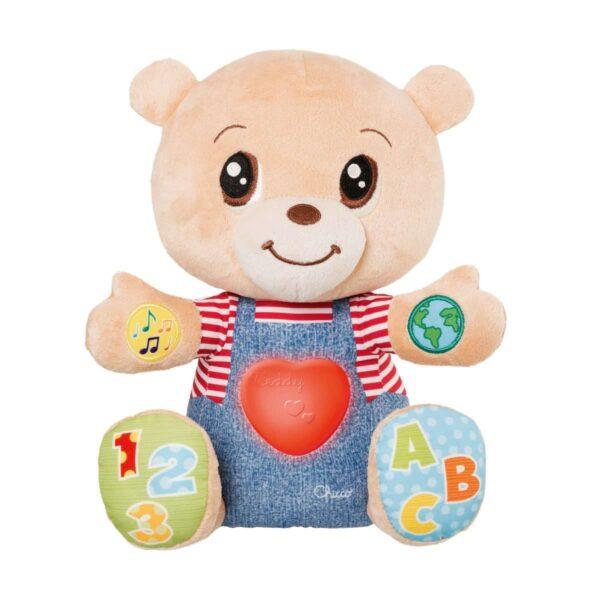 TEDDY ORSO DELLE EMOZIONI - Chicco - Toys Center Chicco Unisex 0-12 Mesi, 12-36 Mesi ALTRI
