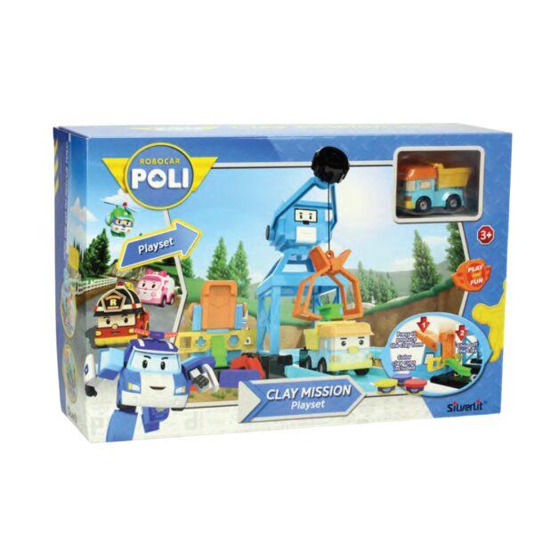 POLI CLAY MISSION PLAYSET - ALTRI - Playset e accessori per personaggi d'azione