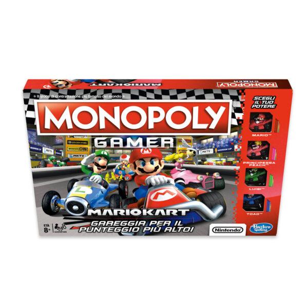 Monopoly Gamer Mario Kart - Monopoly - Toys Center MONOPOLY Unisex 12+ Anni, 5-8 Anni, 8-12 Anni ALTRI
