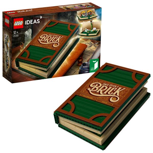 21315 - Libro Pop-Up LEGO IDEAS Unisex 12+ Anni, 8-12 Anni ALTRI