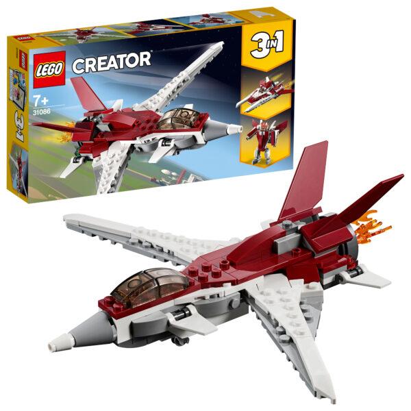 31086 - Aereo futuristico - Lego Creator - Toys Center LEGO CREATOR Unisex 12+ Anni, 5-8 Anni, 8-12 Anni ALTRI