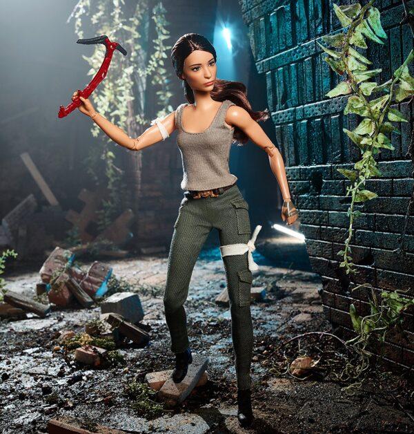 ALTRI Barbie Barbie collectors - Tomb Raider Lara Croft, dal nuovo film di Tomb Raider, da collezione - FJH53 12+ Anni Femmina