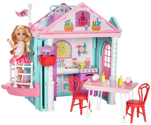 La Casa di Chelsea ALTRI Femmina 12-36 Mesi, 12+ Anni, 3-5 Anni, 5-8 Anni, 8-12 Anni Barbie