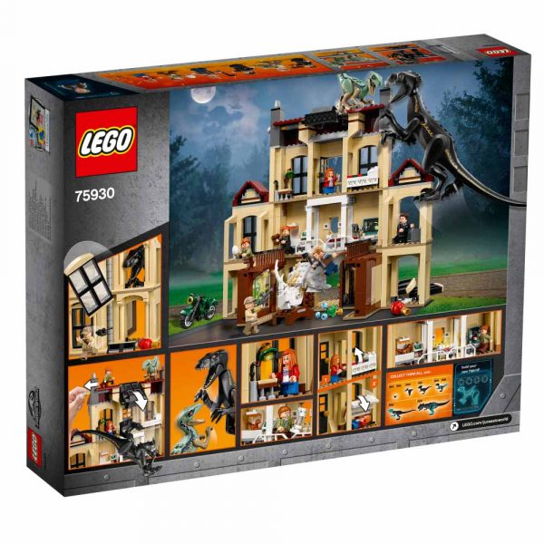 75930 - Attacco dell'Indoraptor al Lockwood Estate - LEGO JURASSIC WORLD - LEGO - Marche JURASSIC WORLD Unisex 12+ Anni, 5-8 Anni, 8-12 Anni ALTRO