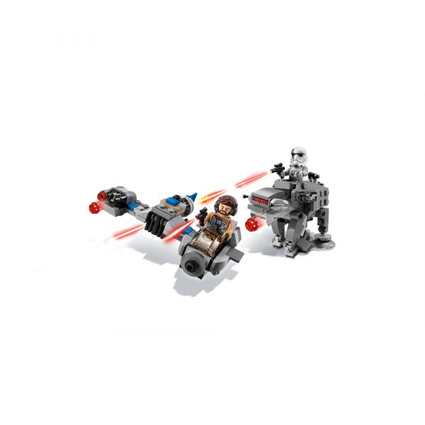 Disney Star Wars 75195 - Ski Speeder™ contro Microfighter First Order Walker™ - Disney - Toys Center Maschio 12+ Anni, 5-8 Anni, 8-12 Anni