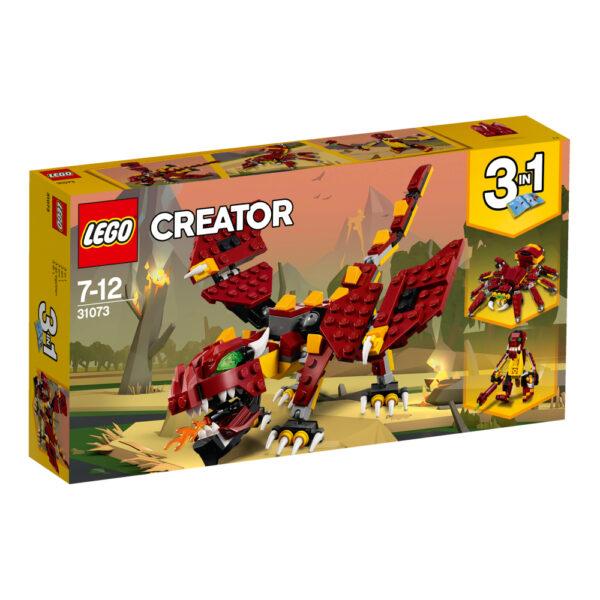 31073 - Creature mitiche - Lego Creator LEGO CREATOR Maschio 12+ Anni, 5-8 Anni, 8-12 Anni ALTRI