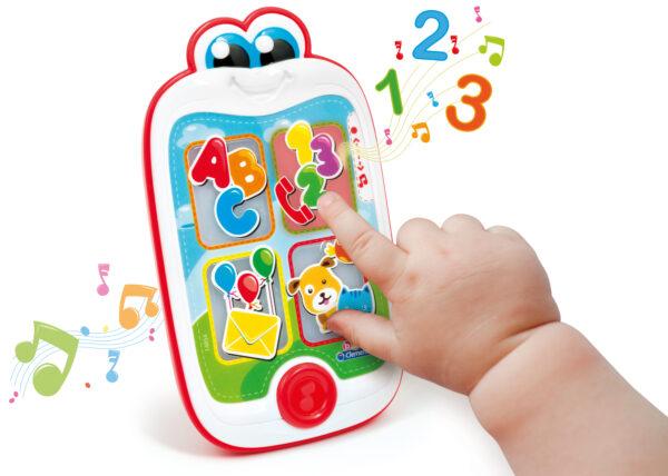 ALTRI BABY CLEMENTONI Unisex 0-12 Mesi, 12-36 Mesi, 3-5 Anni CLEMENTONI - 14854 - Baby Smartphone