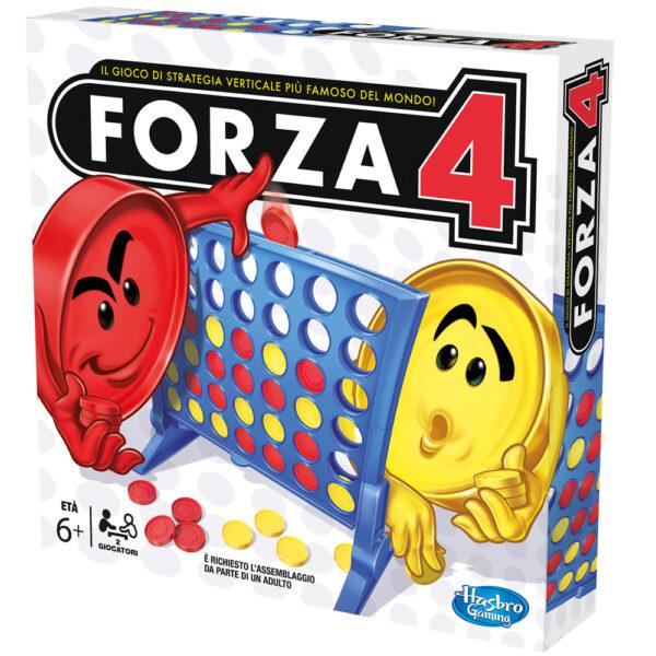 FORZA 4 - Hasbro Gaming - Toys Center HASBRO GAMING Unisex 12+ Anni, 5-7 Anni, 5-8 Anni, 8-12 Anni ALTRI