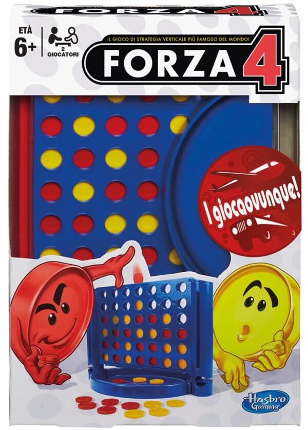 FORZA 4 TRAVEL - Giocattoli Toys Center HASBRO GAMING Unisex 12+ Anni, 5-7 Anni, 5-8 Anni, 8-12 Anni ALTRI