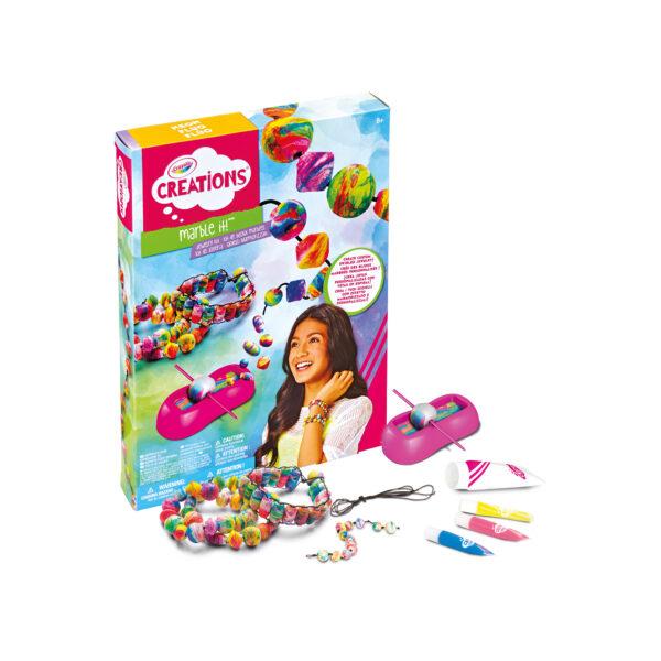 Gioielli Marmorizzati Crayola Creations CRAYOLA Femmina 12+ Anni, 5-8 Anni, 8-12 Anni ALTRI