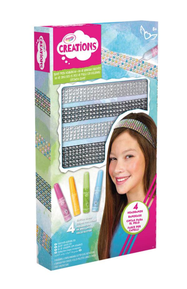 Cerchietti Glitter Crayola Creations ALTRO Femmina 12+ Anni, 5-8 Anni, 8-12 Anni ALTRI