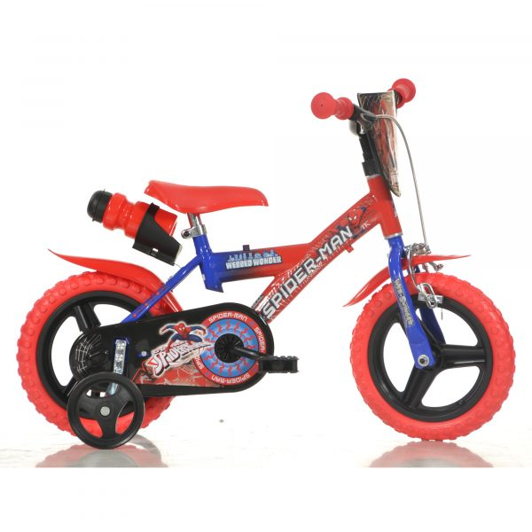 """Bici bimbo 12"""" 1 freno Spiderman - Marvel - Bici, Tricicli e Cavalcabili a pedali"""