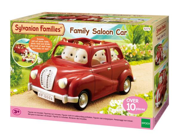 Auto rossa SYLVANIAN FAMILIES Femmina 12-36 Mesi, 3-4 Anni, 3-5 Anni, 5-7 Anni, 5-8 Anni, 8-12 Anni ALTRI