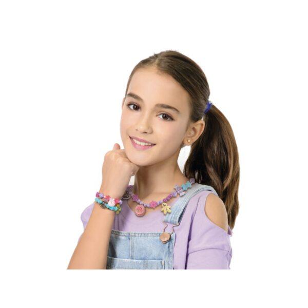 CREAMANIA GIRL SWEET CHARMS BRACELETS - CREA BRACCIALETTI PASTICCINO Femmina 12+ Anni, 3-5 Anni, 5-8 Anni, 8-12 Anni ALTRI