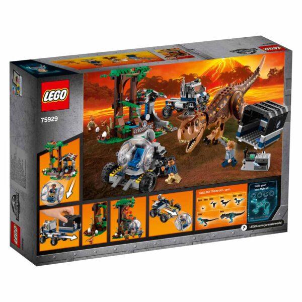 75929 - Fuga dal Carnotaurus sulla girosfera - LEGO JURASSIC WORLD - LEGO - Marche - ALTRO - Costruzioni