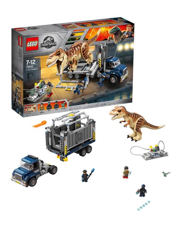 75933 - Trasporto del T. rex - LEGO JURASSIC WORLD - LEGO - Marche - ALTRO - Costruzioni